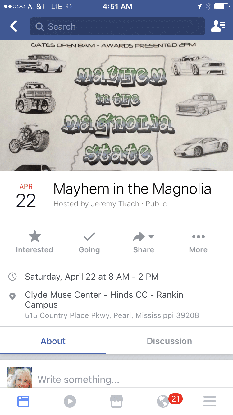 Mayhem in the Magnolia State