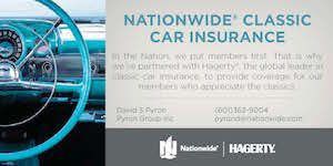 Nationwide Classic Car Insurance